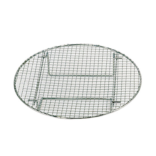 "Update STR1475 14-3/4"" Round Steamer Rack - Chrome"