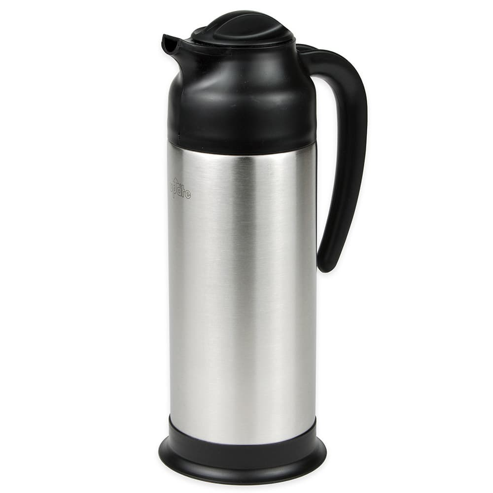 Update SV-100 1-liter Vacuum Creamer - Insulated, Stainless/Black
