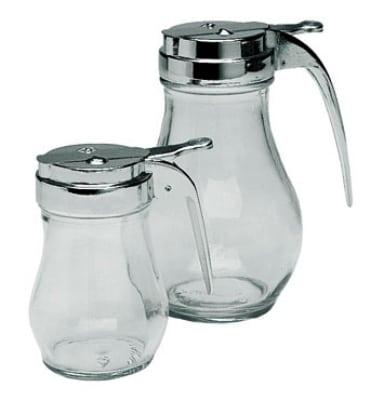 Update SYDP-06 6-oz Syrup Dispenser - Glass/Chrome