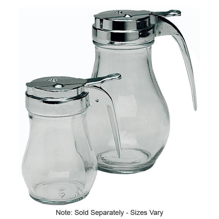 Update SYDP-12 12-oz Syrup Dispenser - Glass/Chrome