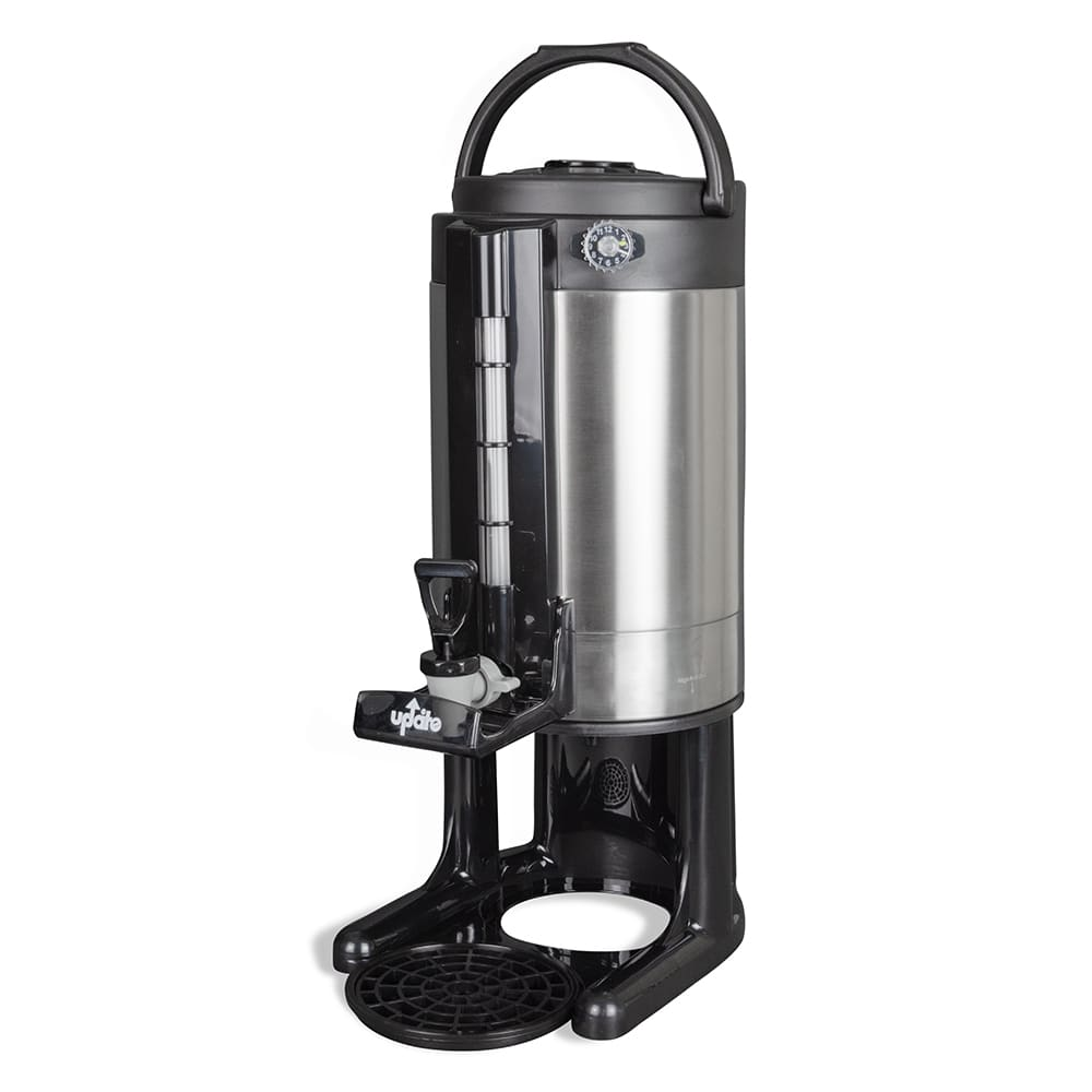 Update TGD-15GT 1.5-gal Thermal Beverage Dispenser, Vacuum Insulated, Stainless Steel Liner