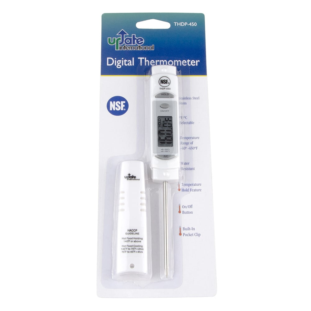Update THDP-450 Digital Pocket Thermometer - Water-Resistant
