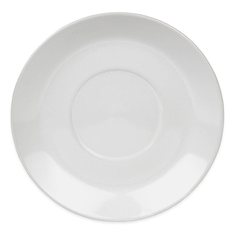 Update TW-60SR 6-oz Tiara Cappuccino Cup Saucer - Ceramic, White