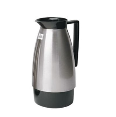 Update UD1000N 1-Liter Insulated Vacuum Server w/ Black Auto Pour Top, Nickel