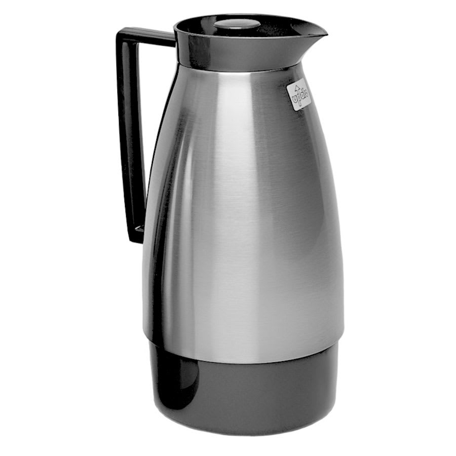 Update UD1000NT 1 Liter Server w/ Twist Top & Glass Lined, Black/Brush Nickel