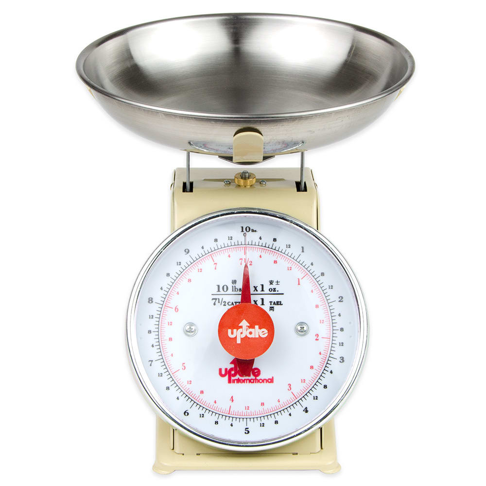 "Update UP-710T 7"" Fixed Dial Scale - 10 lb Capacity, 1 oz Graduations"