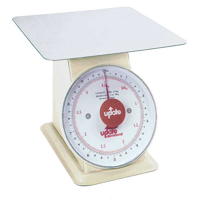 "Update UP-810 8"" Fixed Dial Scale - 10 lb Capacity, 1 oz Graduations"