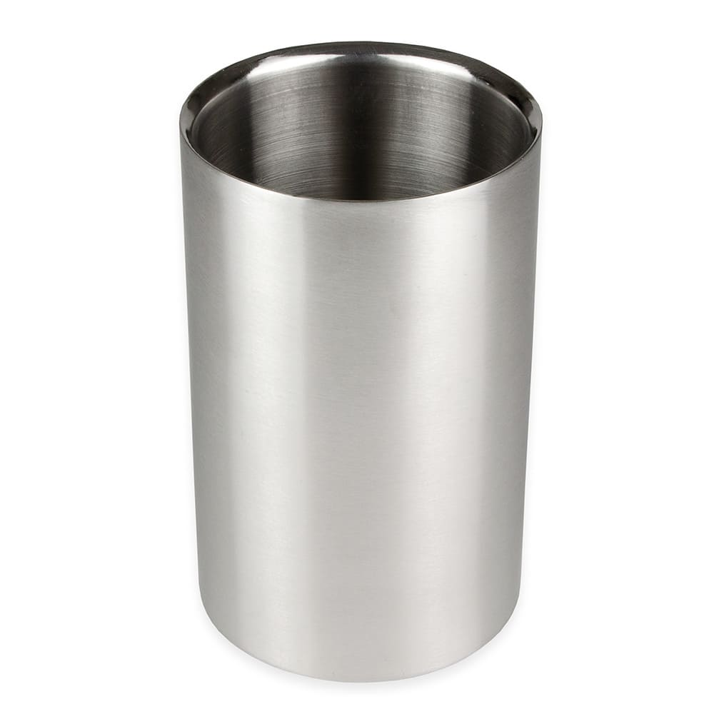"""Update WC-SS 4 1/4"""" Double-Walled Wine Cooler - Stainless"""