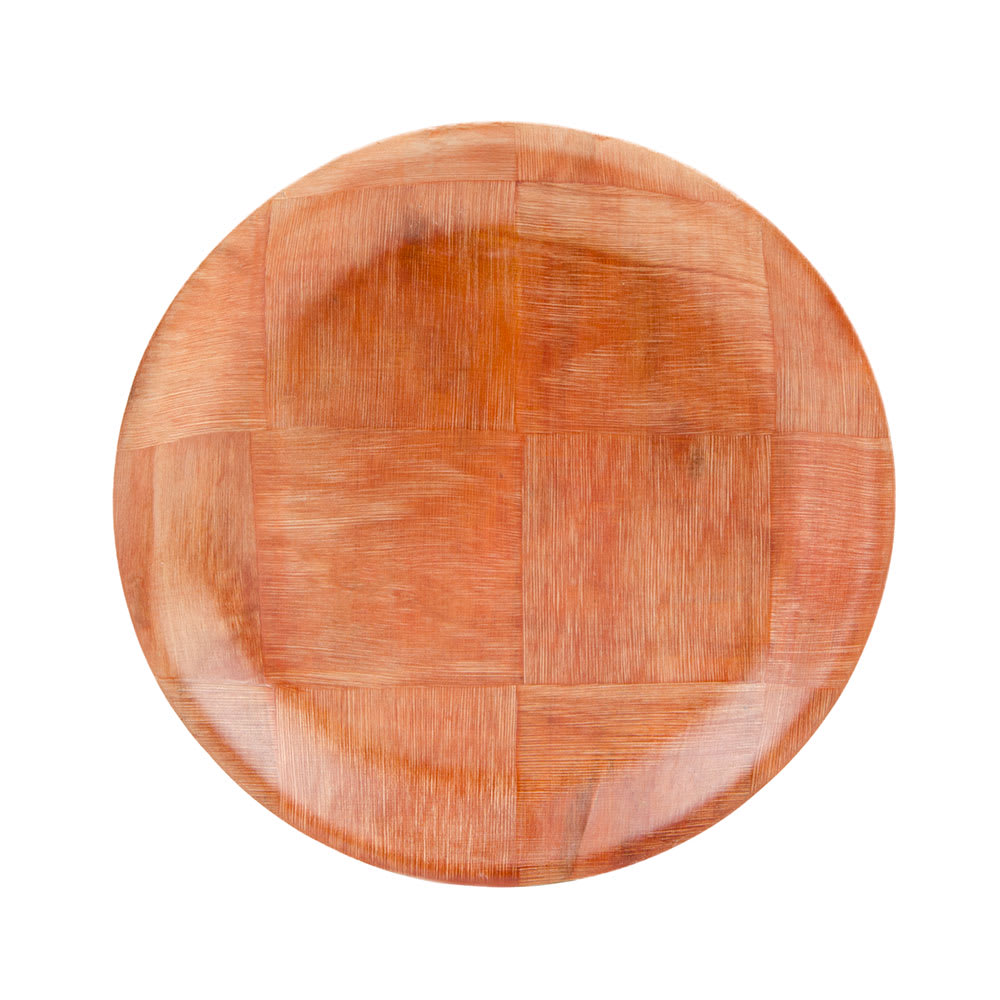 """Update WRP-8 8"""" Woven Wood Salad Plate"""