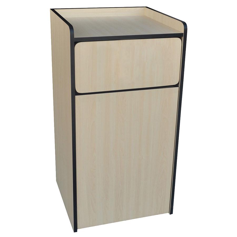 Update WRU-35 35-gal Indoor Decorative Trash Can - Wood, Neutral