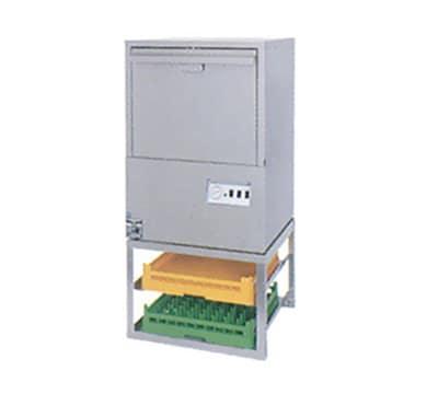 "Moyer Diebel 17RS 17"" Rack Stand w/ Glass Rack Open Shelf for 301 & 501 Warewashers"
