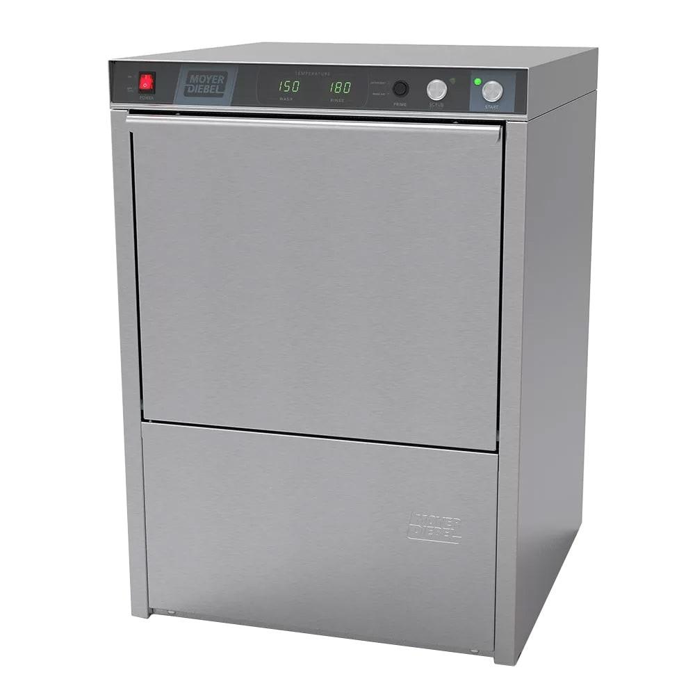 Moyer Diebel 201HT High Temp Undercounter Dishwasher w/ Built-In Booster & (21) Racks/hr, 208v/1ph