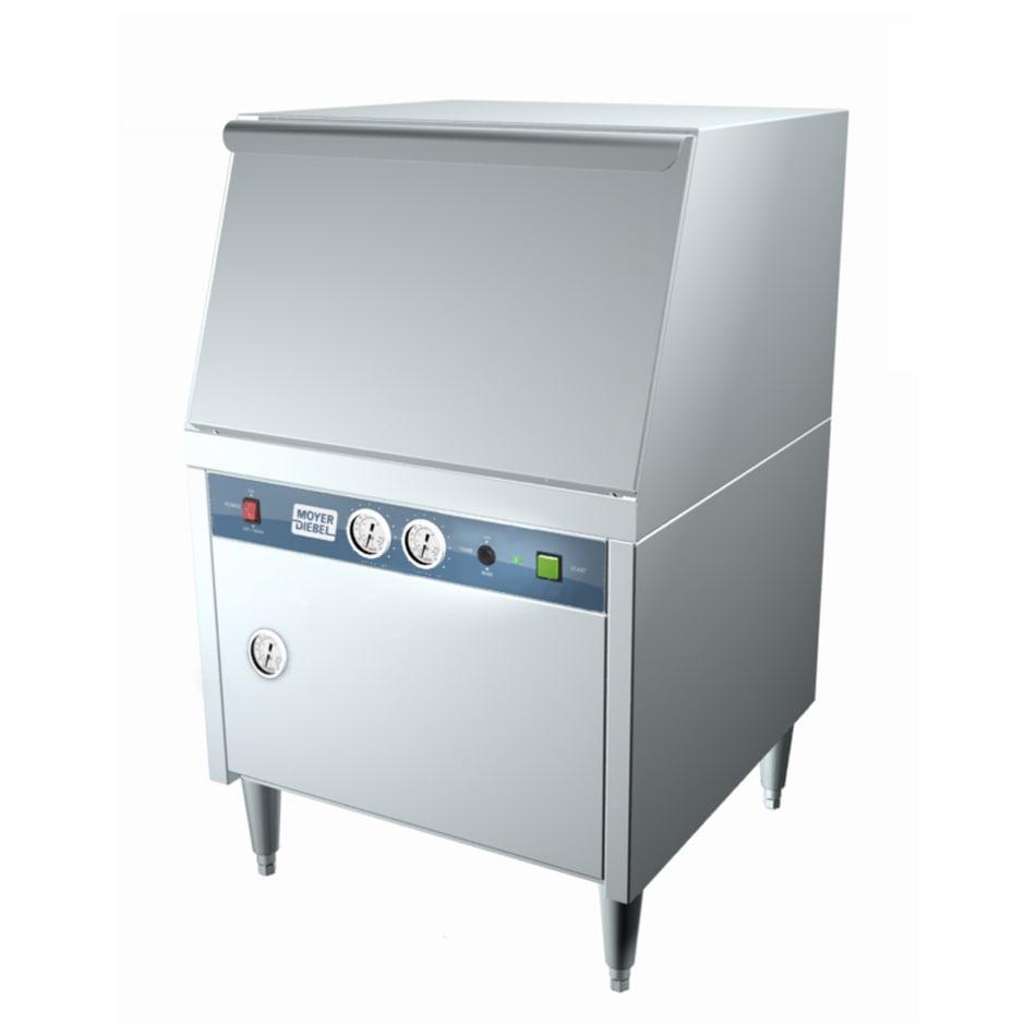Moyer Diebel MD240HT High Temp Rack Undercounter Dishwasher - (30) Racks/hr, 240v/1ph