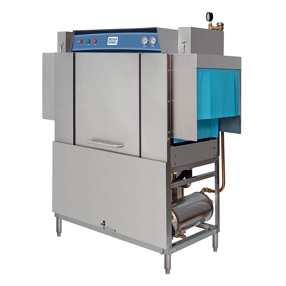 "Moyer Diebel MD44 60"" High Temp Conveyor Dishwasher w/ Electric Tank Heat, 240v/3ph"