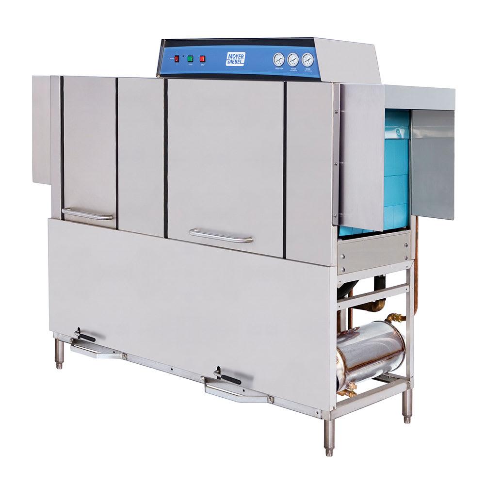 "Moyer Diebel MD66 82"" High Temp Conveyor Dishwasher w/ Electric Tank Heat, 208v/3ph"