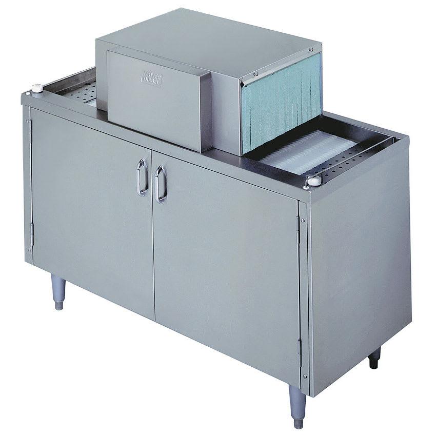 Moyer Diebel SW400L 2081 Pass-Thru Type Glasswasher w/ 30-Racks/Hr Capacity, 208/1V