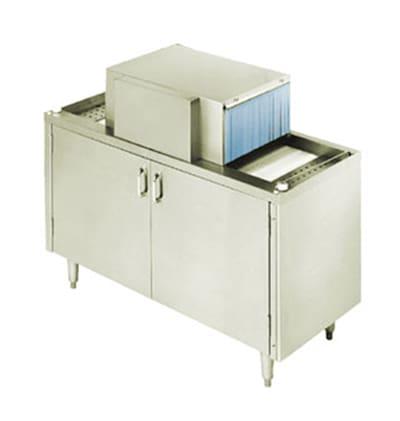 Moyer Diebel SW400L 208501 Pass-Thru Type Glasswasher w/ 30-Racks/Hr Capacity, Export