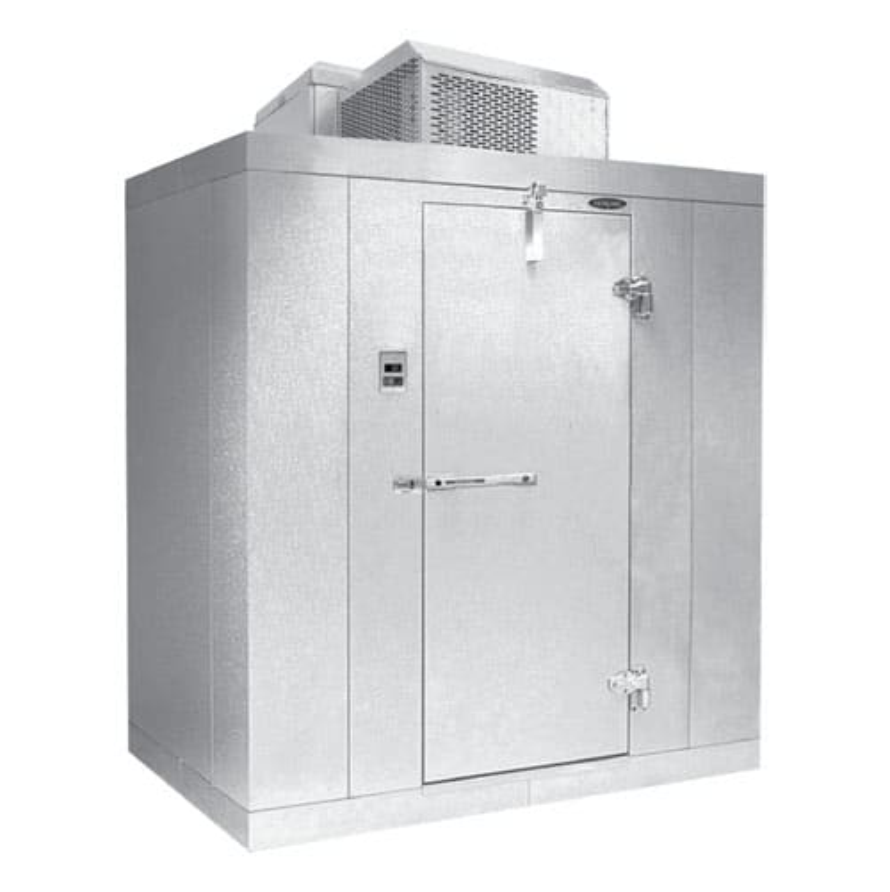 Norlake KLB74610-C Indoor Walk-In Refrigerator w/ Top Mount Compressor, 6' x 10', No Floor