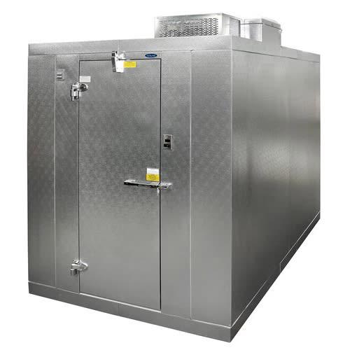 Norlake KLB74612-C Indoor Walk-In Refrigerator w/ Top Mount Compressor, 6' x 12', No Floor