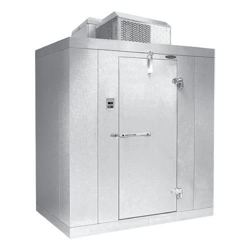 Norlake KLF7766-C R Indoor Walk-In Freezer w/ Top Mount Compressor, 6' x 6'
