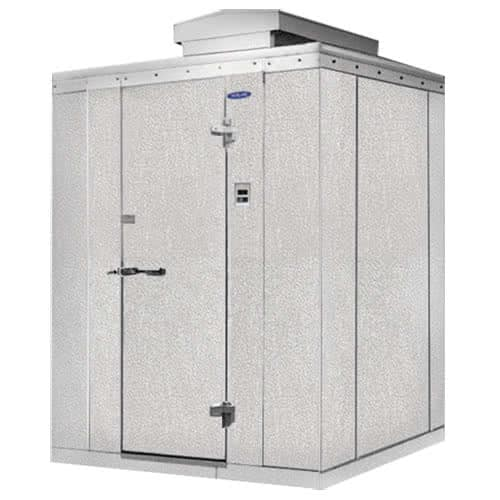 Norlake KODF7766-C Outdoor Walk-In Freezer w/ Top Mount Compressor, 6' x 6'