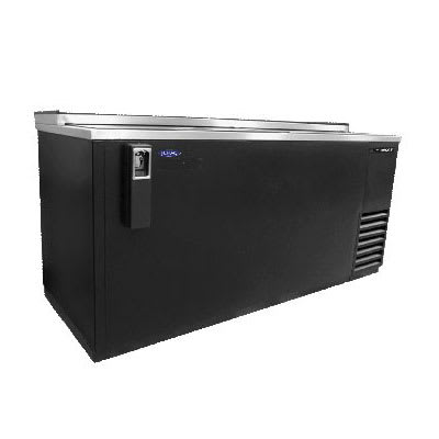 "Norlake NLBC65 64.5"" Forced Air Bottle Cooler - Holds (539) 12 oz Bottles, Bottle Opener, 115v"