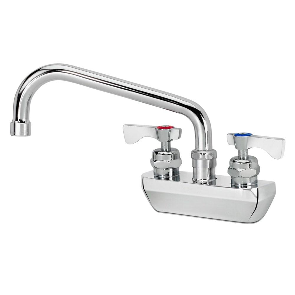 "Krowne 14-408L Low Lead Royal Series Faucet, 8"" Long, Splash Mount"