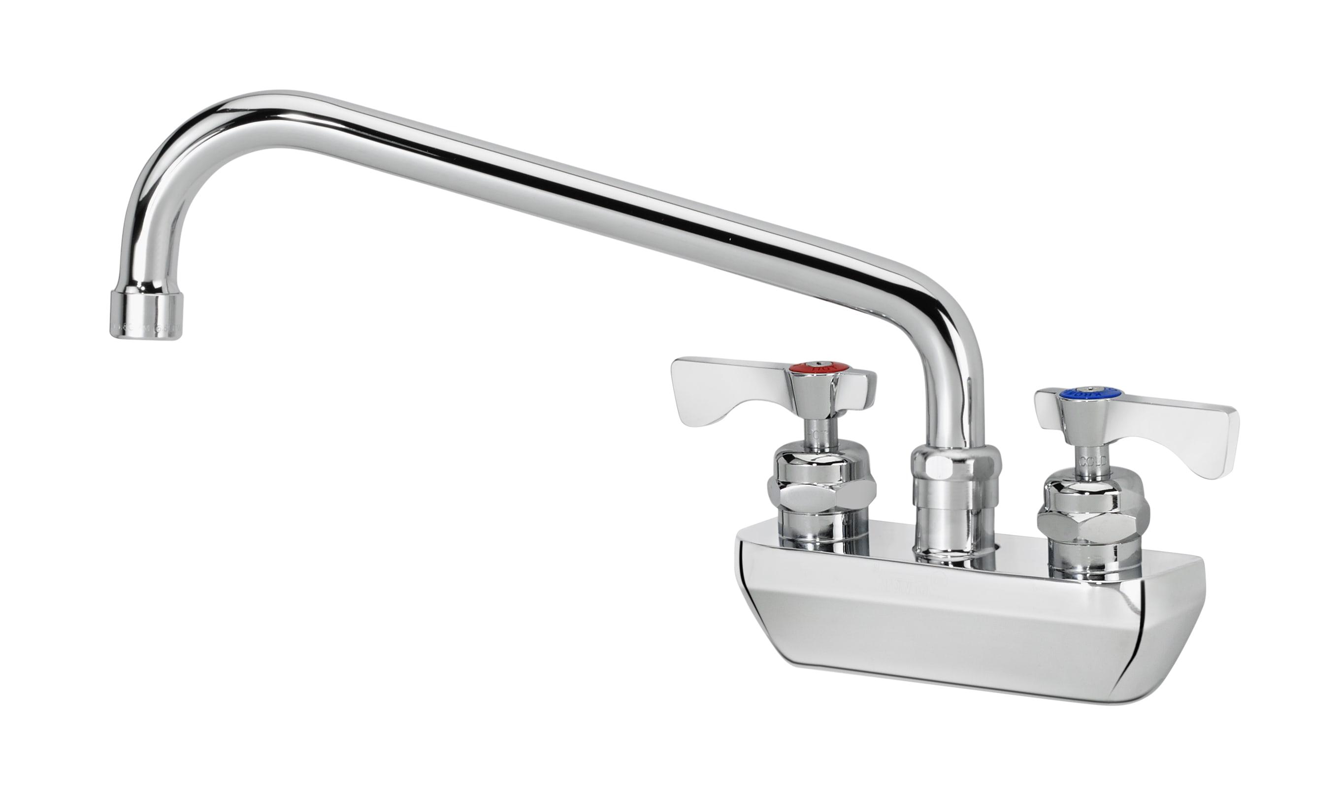 "Krowne 14-410L Low Lead Royal Series Faucet, Splash Mount, 10"" Long"