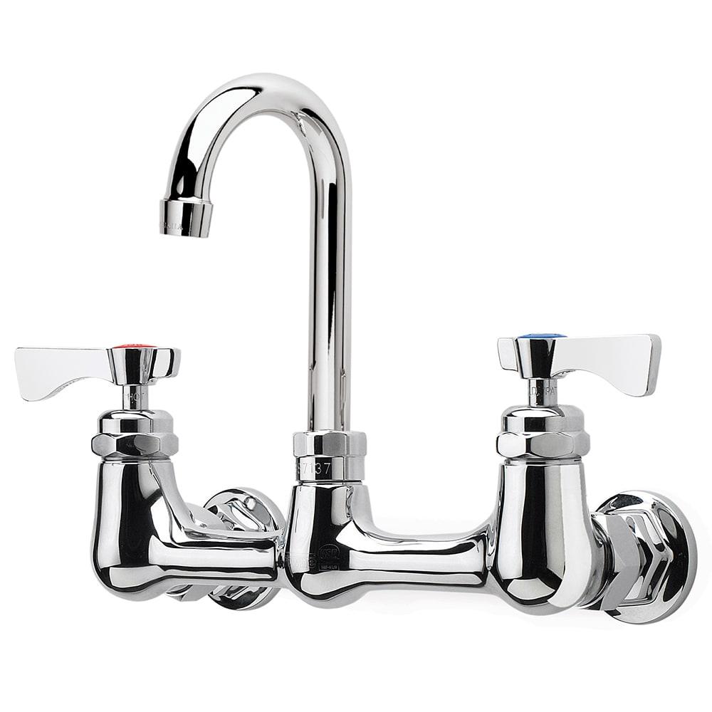 "Krowne 14-801L Low Lead Royal Series Faucet, Splash Mount, 5"" Long"