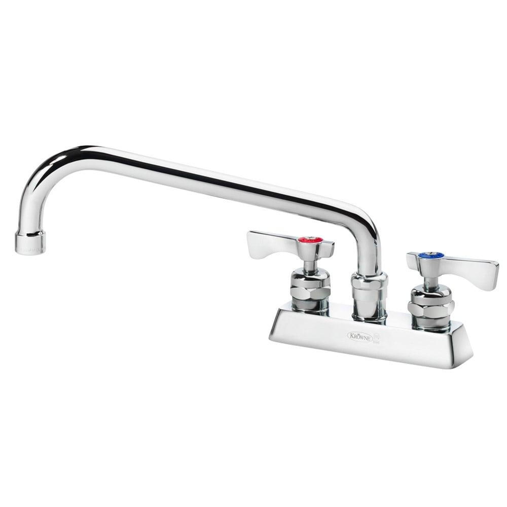 """Krowne 15-310L Low Lead Royal Series Faucet, Deck Mount, 10"""" Long,4"""" Center"""