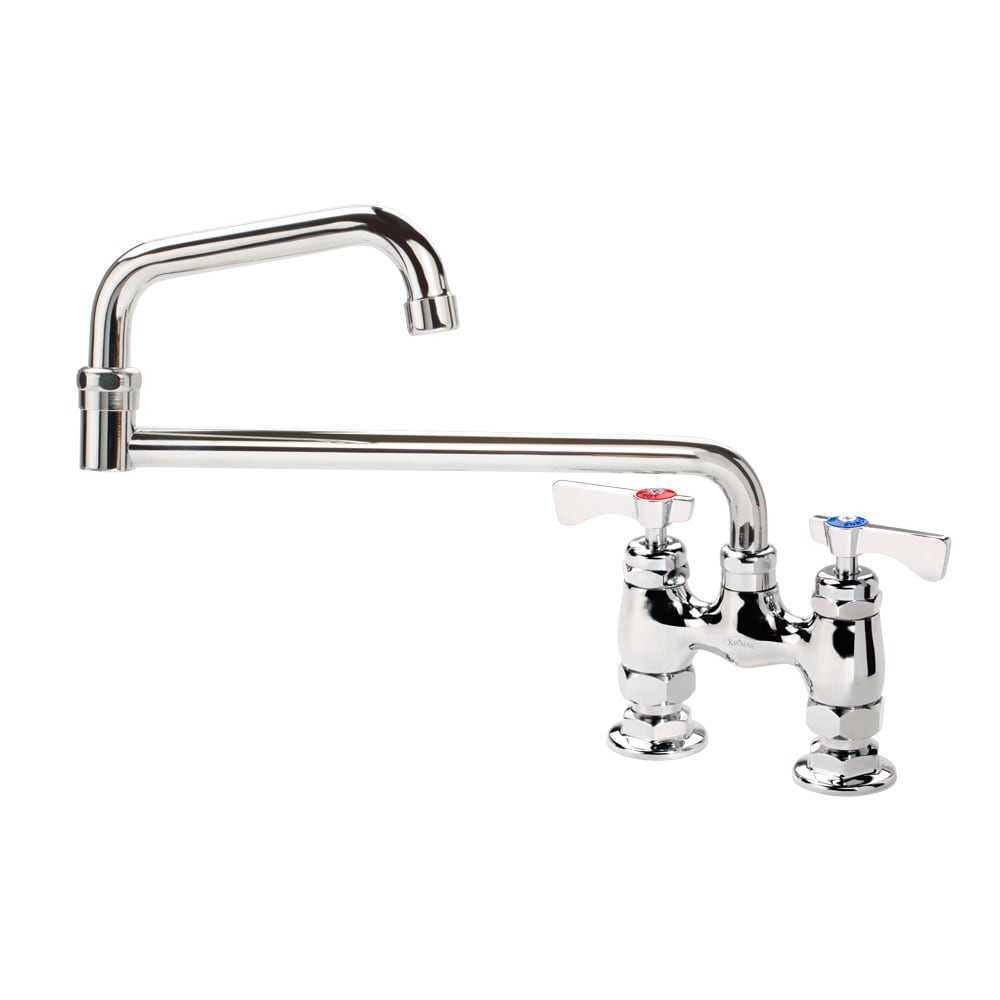 "Krowne 15-418L Low Lead Royal Series Faucet, Deck Mount, 18"" Long, Joint Nozzle"