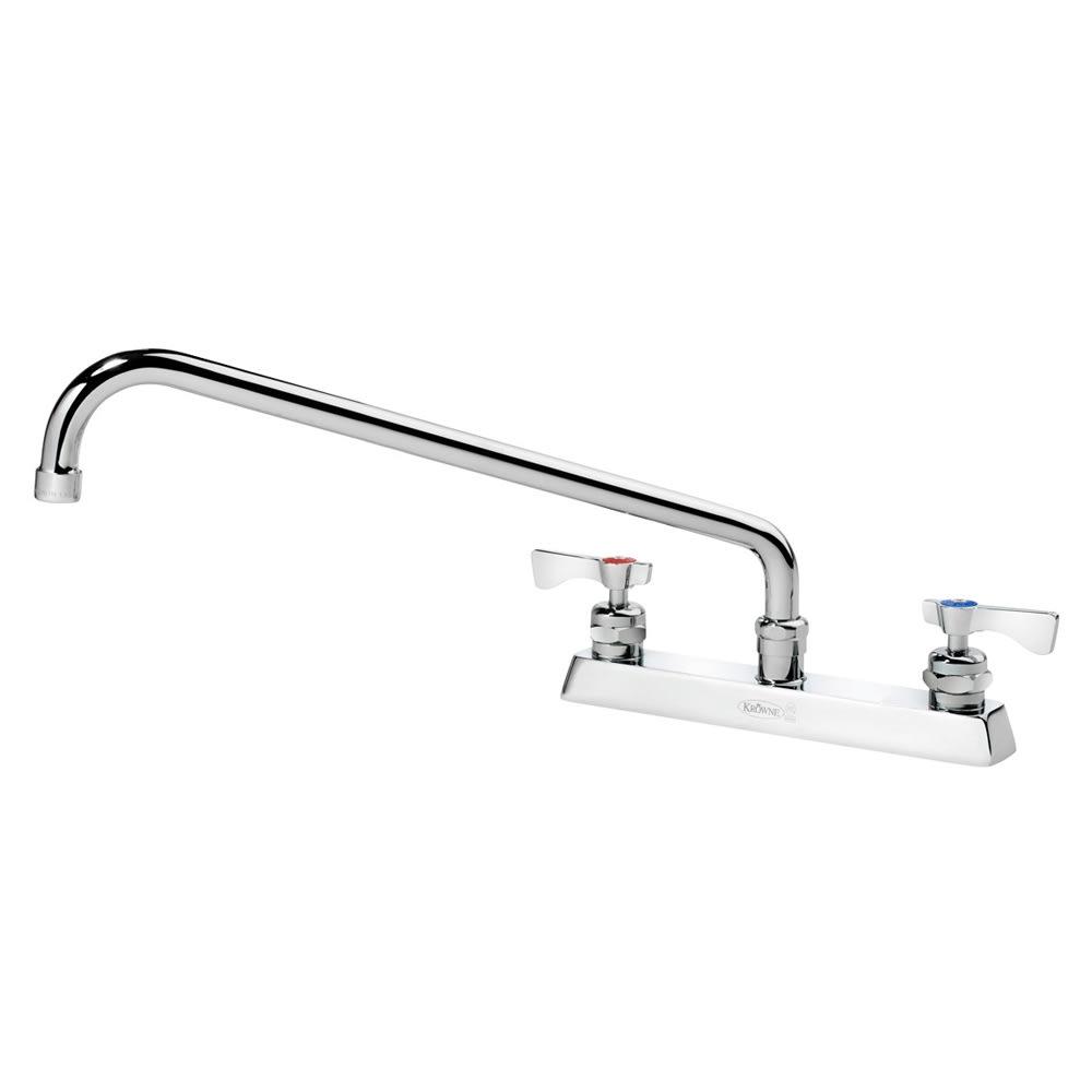 """Krowne 15-516L Low Lead Royal Series Faucet, 16"""" Long, Swing Nozzle,8"""" Center"""