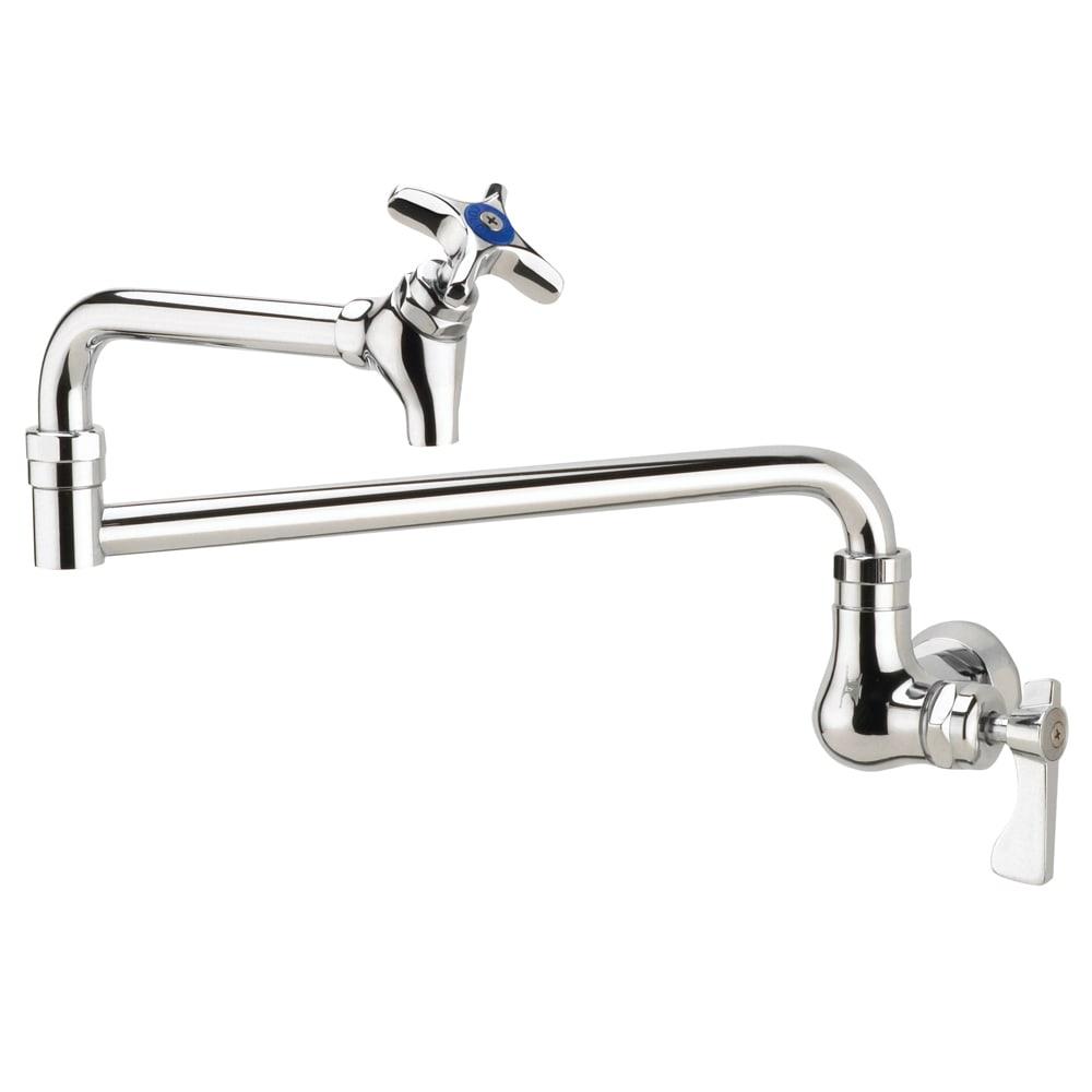 "Krowne 16-181L Royal Series Wall Mount Pot Filler Faucet w/ 18"" Spout, Low Lead"