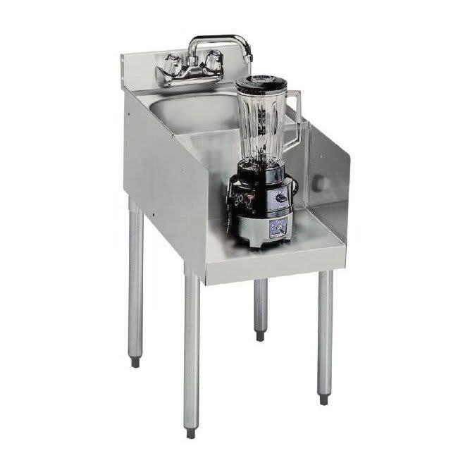 """Krowne 18-12BD Blender Dump Sink Add-On - Splash Mount, 12x22.5"""", 4-Legs"""