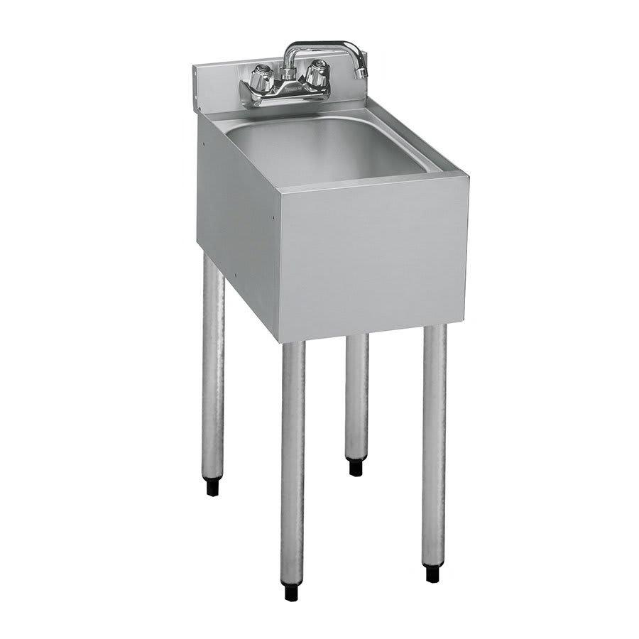 "Krowne 18-1C 12"" 1 Compartment Sink w/ 10""W x 14""L Bowl, 7"" Deep"