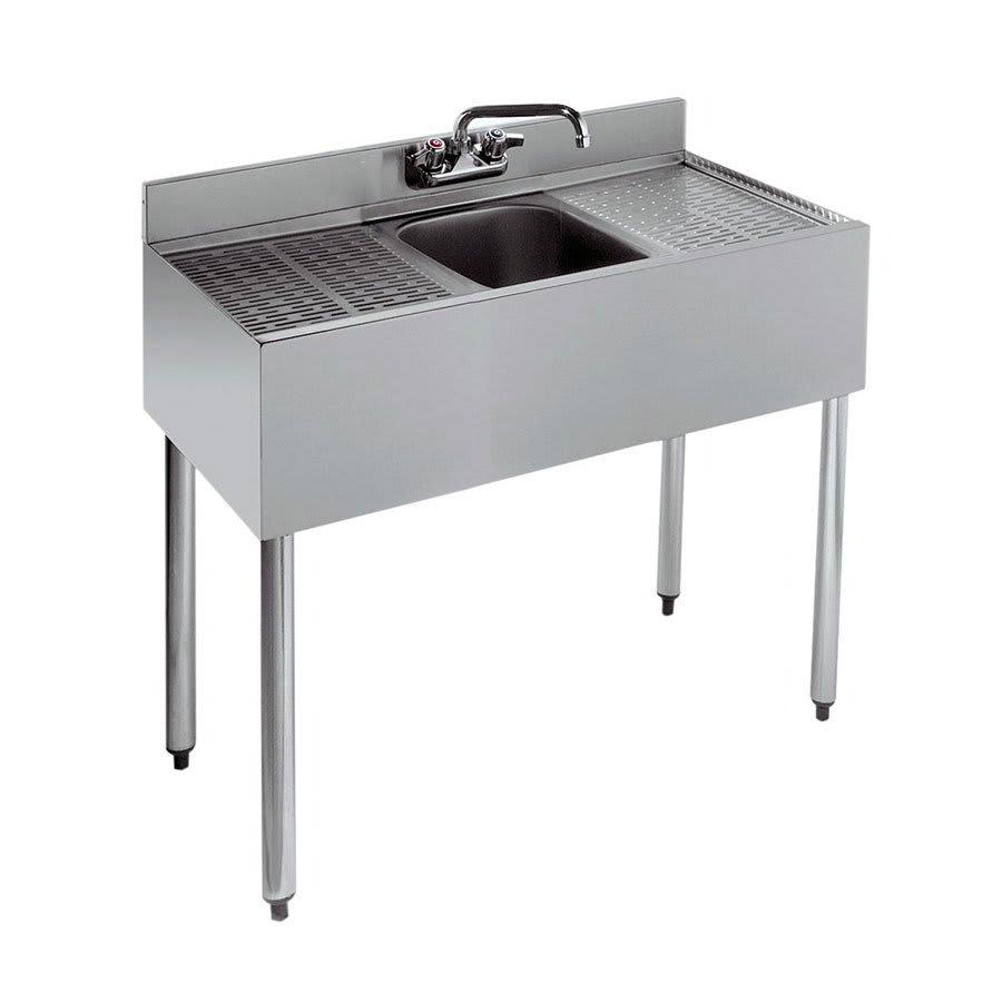 "Krowne 18-31C 36"" 1 Compartment Sink w/ 10""W x 14""L Bowl, 10"" Deep"