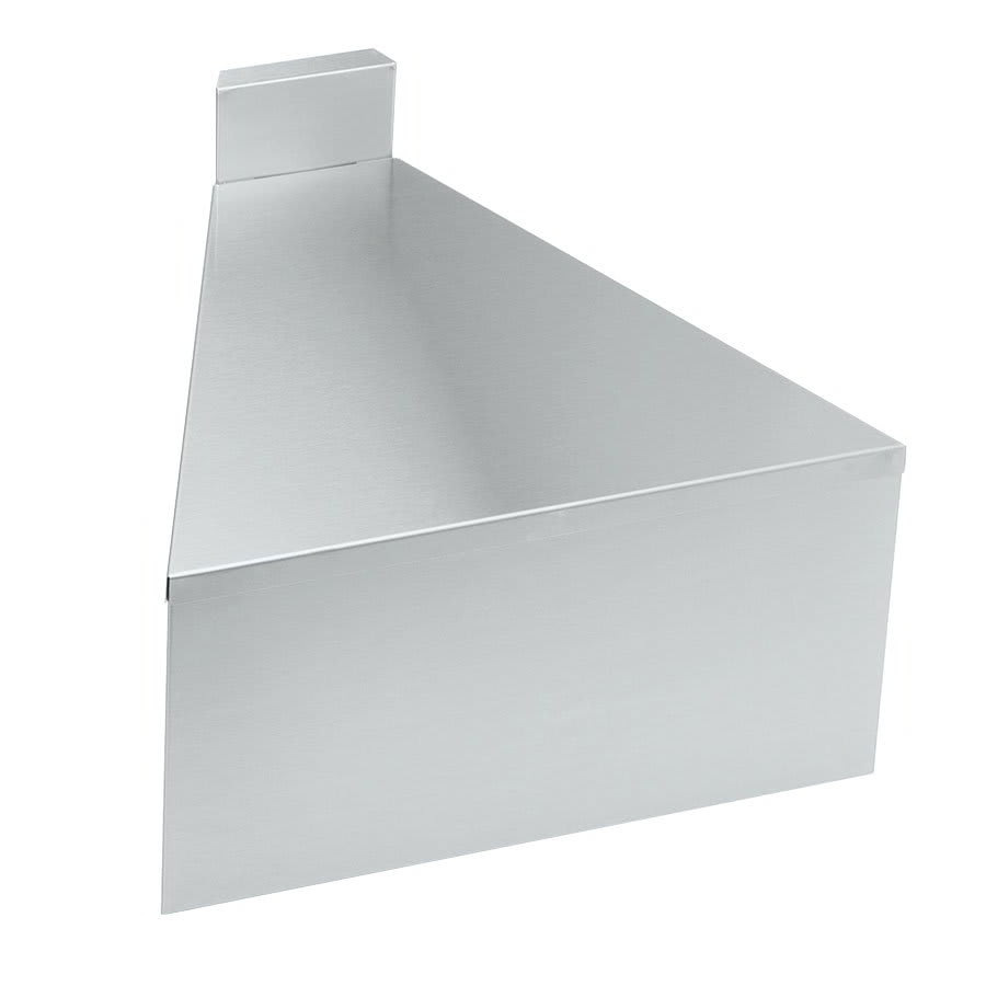"Krowne 18-F30 18.5"" Flat Top Front Angle - 30 Degree, 4"" Back Splash"