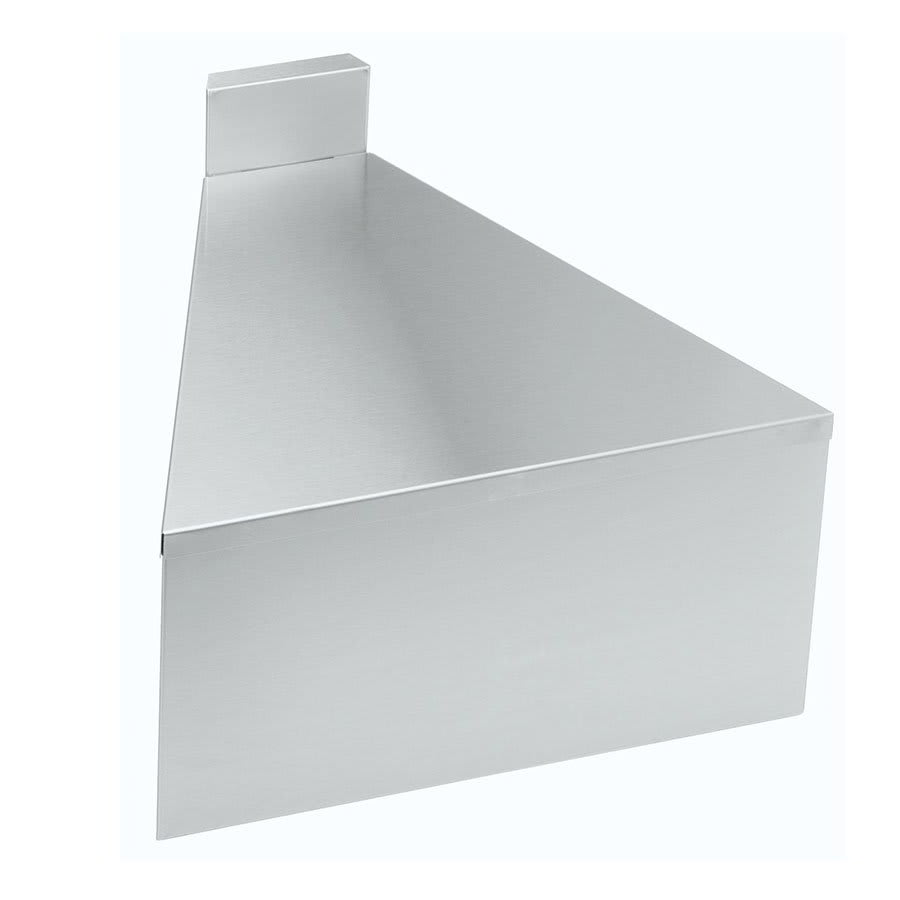 "Krowne 18-FC 18.5"" Flat Top Front Corner Angle - 90 Degree, 4"" Back Splash"