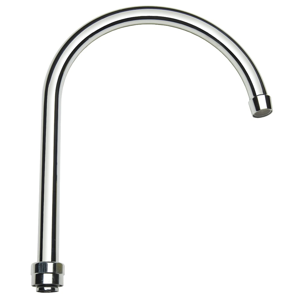 "Krowne 21-429L 11"" Gooseneck Replacement Spout -  Low Lead, Stainless"