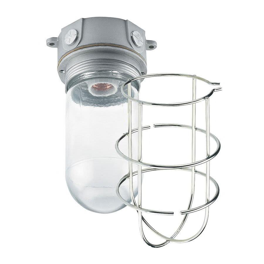 Krowne 25-113 Refrigeration Vaporproof Light Fixture, Shatterproof w/ Wire Guard