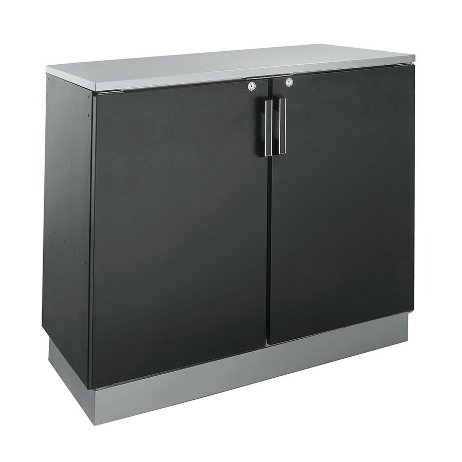 "Krowne BD48 48"" Non-Refrigerated Back Bar Storage Cabinet, 24""D"