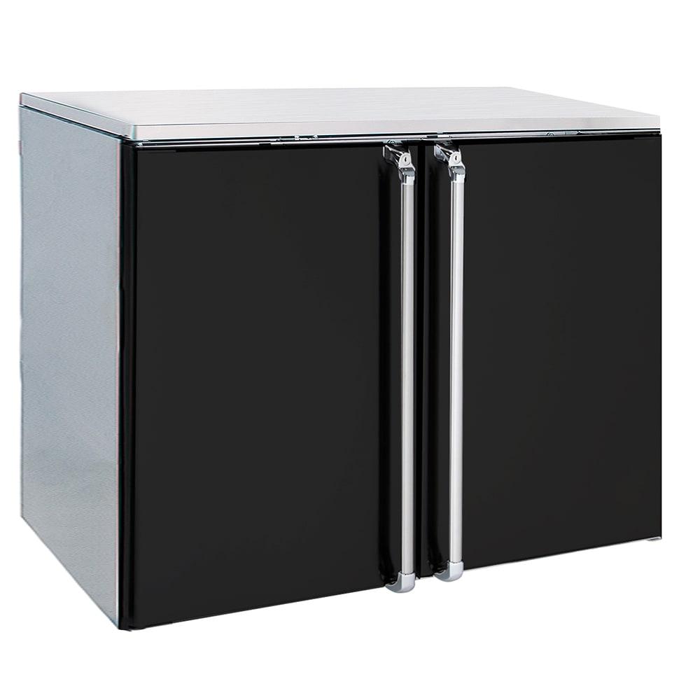 """Krowne BR48R 48"""" (2) Section Bar Refrigerator - Swinging Solid Doors, 115v"""