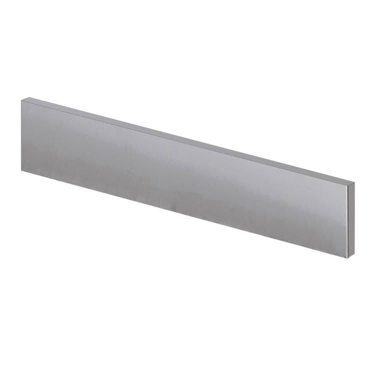 Krowne BS-106 Left Side Kick Plate For Backbar Coolers, Stainless