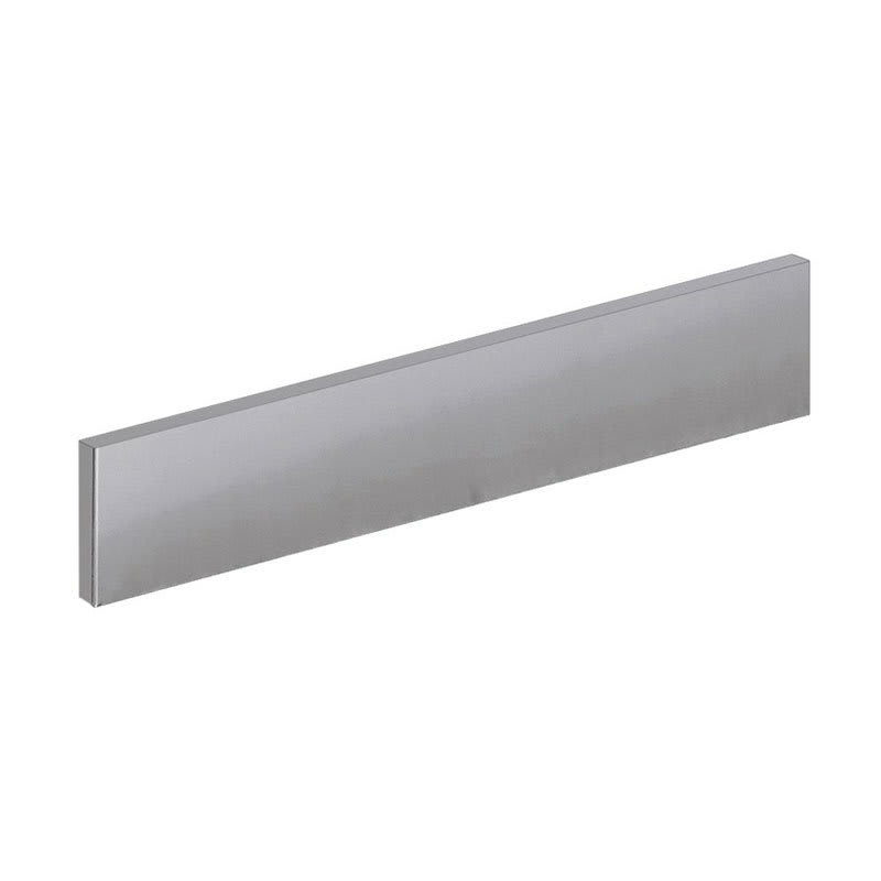 Krowne BS-107 Right Side Kick Plate For Backbar Coolers, Stainless