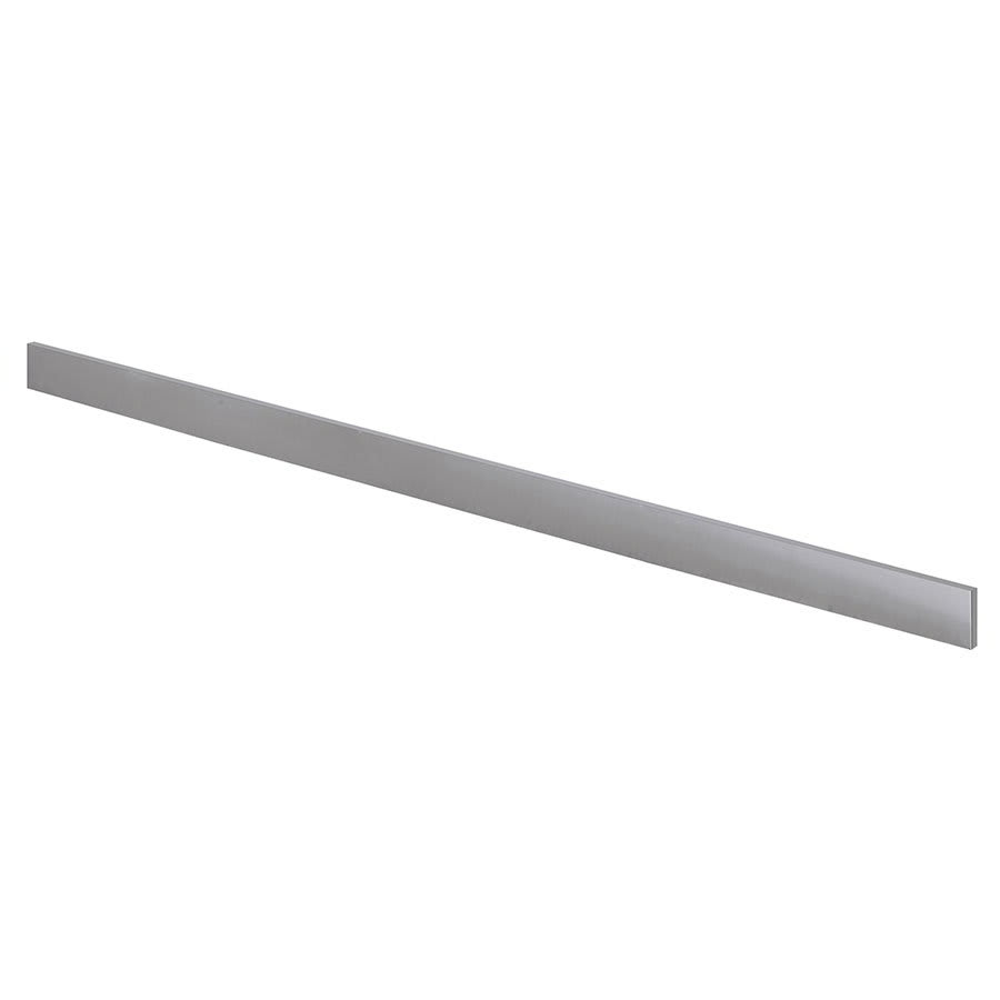 "Krowne BS-124 24"" Front Kick Plate for Backbar Coolers, Stainless"