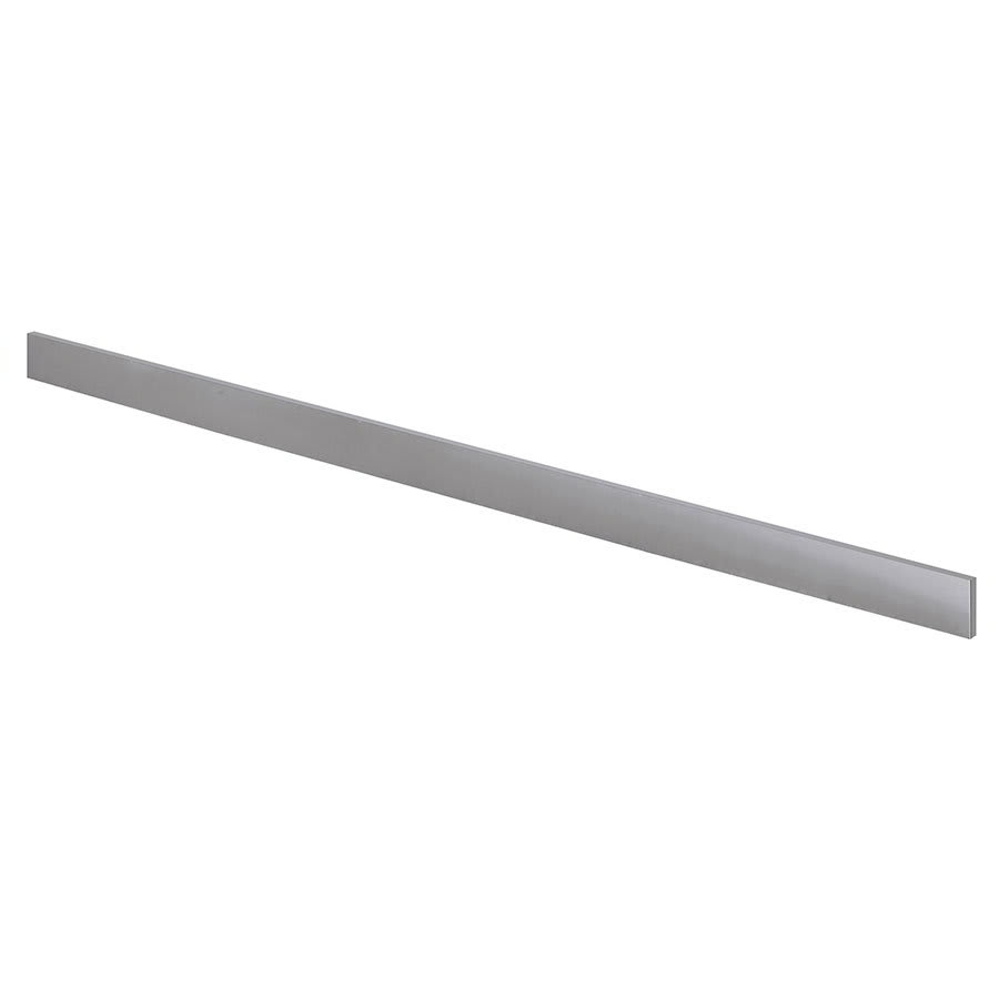 "Krowne BS-160 60"" Front Kick Plate for Backbar Coolers, Stainless"
