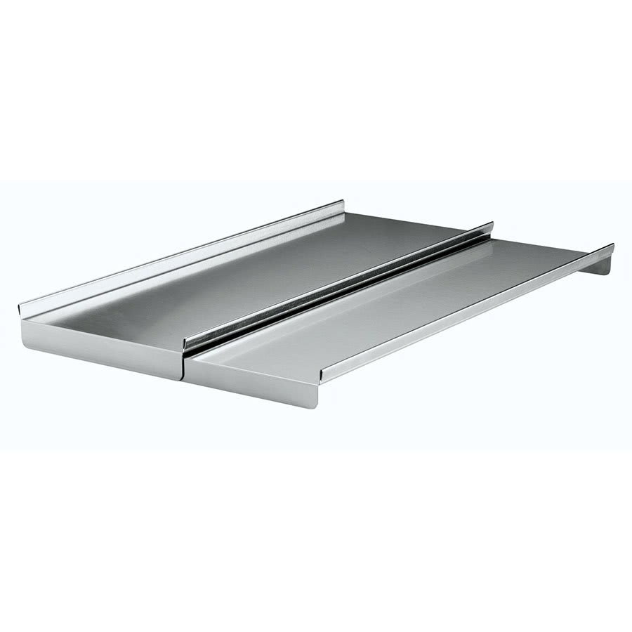 Krowne C-41 Ice Bin Partial Sliding Cover, Stainless