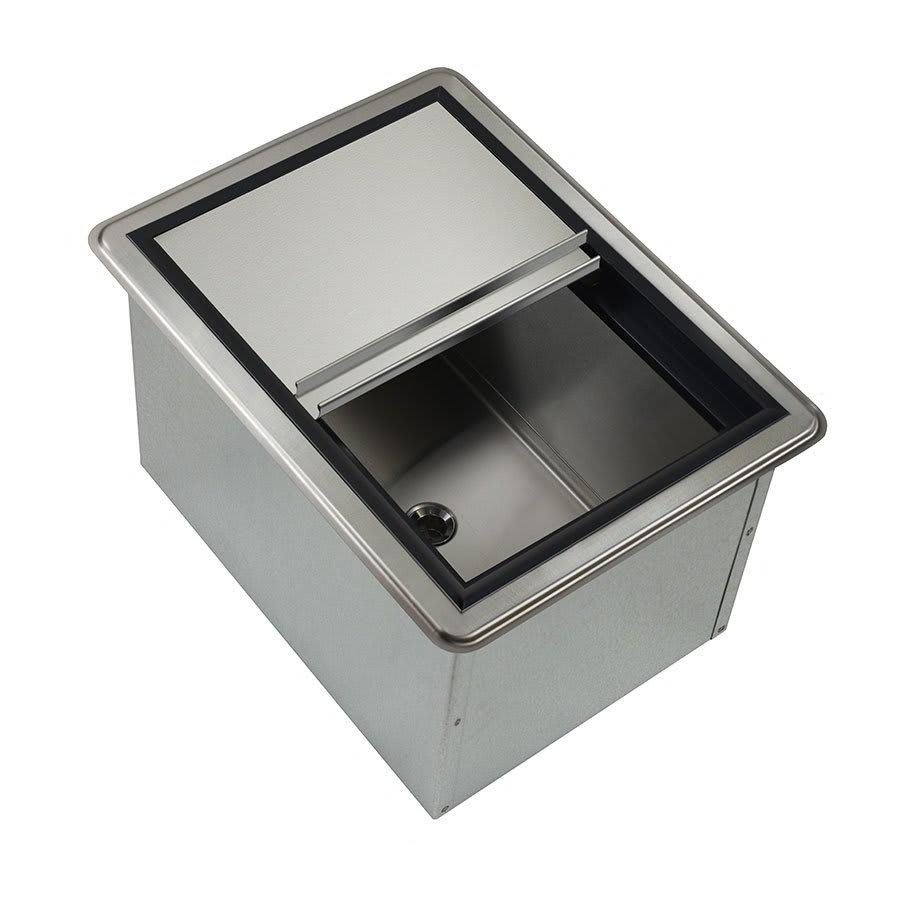 Krowne D278 Ice Bin - 50 lb Capacity, Sliding Cover, 20x15