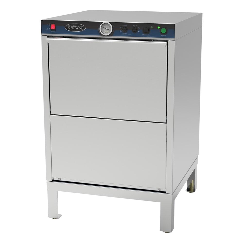 Krowne GWD-24 Low Temp Rack Undercounter Dishwasher - (30) Racks/hr, 115v