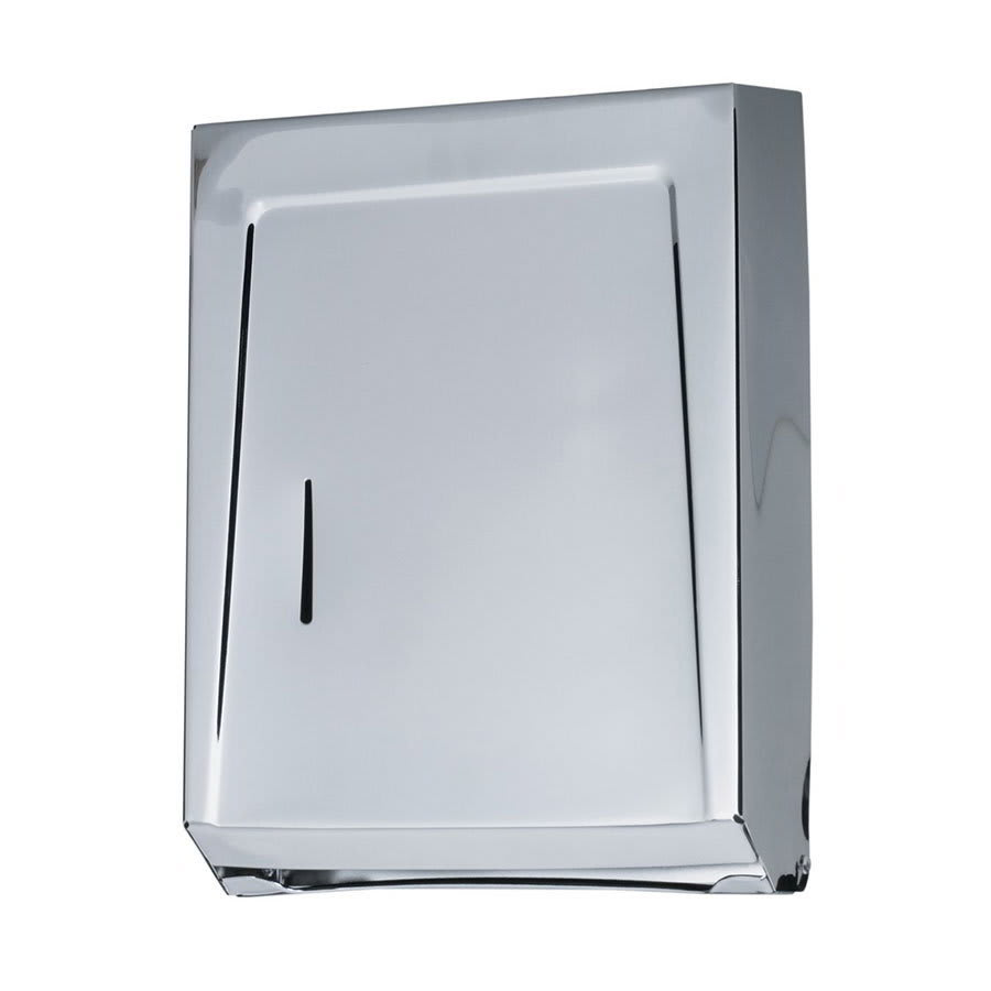 Krowne H-105 Wall Mounted Towel Dispenser For C Fold Towels, Stainless